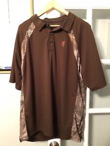 Browning 2XL Gold Shirt