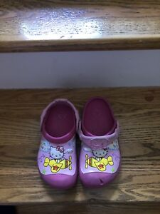 Hello kitty crocs!