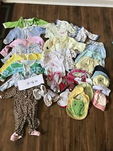 Baby girls clothes 0-18 months