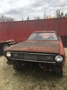 1970 duster with parts car!