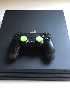 Like new PS4 Pro Console with 1 game for sale