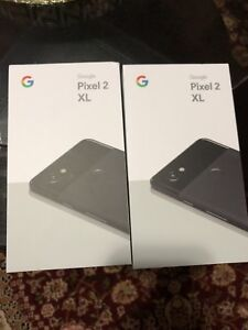 Pixel 2 xl 64gb black brand new sealed in box