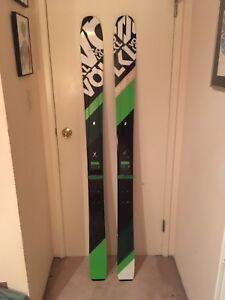 Volkl 108 skis