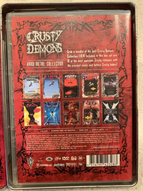 Crusty Demons Hard Metal Collection 2006 Volumes 1-10