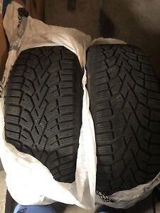 4 pneus d'hiver 205-55-16