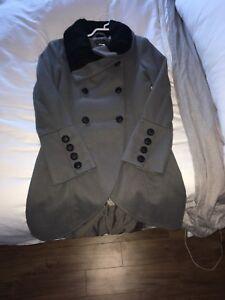 Women's dress coat size 4