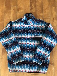 Men's Small 1/4 Button Patagonia Sweater