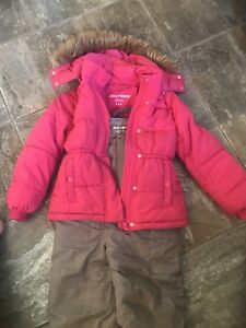 Toddler girl size 4/5 snow suit