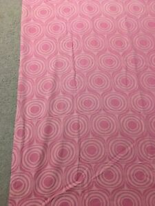 """2 Pink curtain panels 95"""" lightly used"""