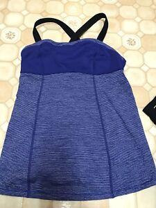 Lululemon tank, rarely worn - size 8