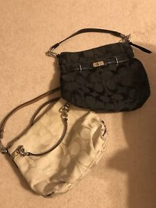 Authentic beautiful 2 Coach bags