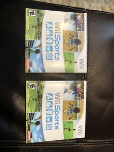 Wii sports - 2 copies