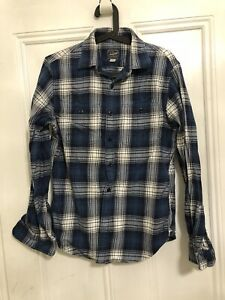 Men's small classic flannel shirt (J.Crew)