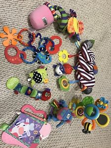 Huge lot of baby toys *bright starts, Lamaze, Fisher-Price*