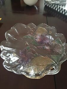 Glass platter / fruit bowl Croydon Burwood Area Preview