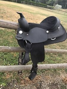 Western saddle by Wintec