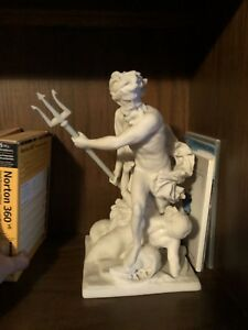 4 MARBLE DUST STATUE
