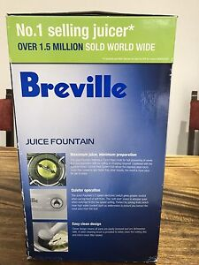 Breville Juice Fountain ( Brand New) Denistone West Ryde Area Preview