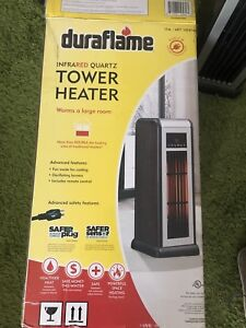 Infrared quartz tower heater