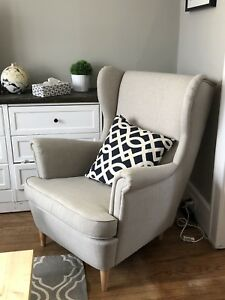 Strandmon Ikea Wing Back Chair.
