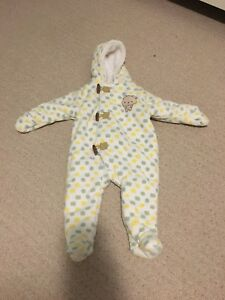 Baby/Infant fleece snow suit
