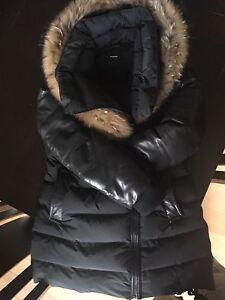 Manteau d'hiver Rudsak en cuir et toile