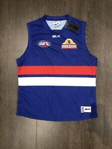 AFL Bulldogs playing jersey