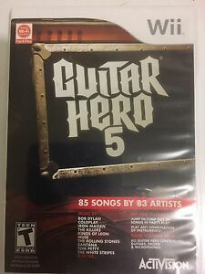 Guitar Hero 5 For Nintendo Wii