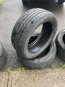 Bridgestone 215/50/17R Low profile tires