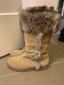 Authentic Coach Suede Boots