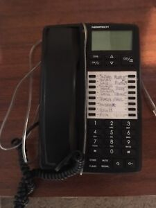 One touch telephone