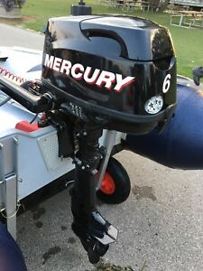 2011 Mercury 6 hp outboard motor short shaft.