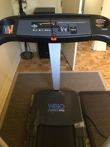 Weslo candence 840 treadmill