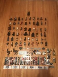60 figure Star Wars Lot with extra accessors