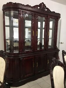 Antique dining room and couch set