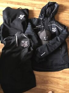 Valley Wildcats MHL junior hockey swag collection like new Men L