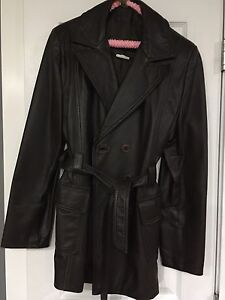 Women's Brown Leather Jacket for Sale