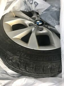 BMW X1 original rims with winter tires