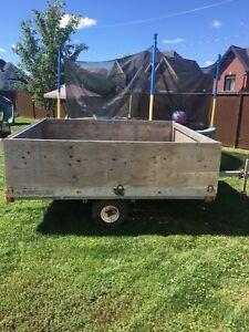 Skidoo trailer 8x7.5 feet