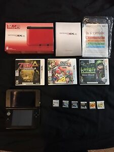 MINT! 3DS XL with 13 Games!