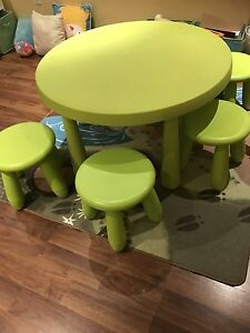 IKEA kids round table and chairs