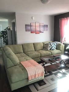 Sectional couch pear colot