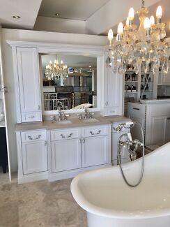 Custom Ex Display Hamptons Bathroom