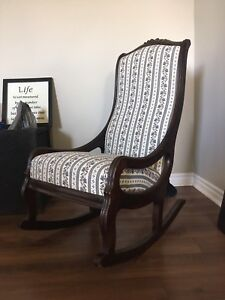rare rocking chair