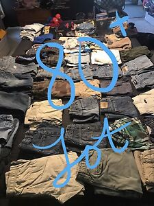 80+ boys clothing and shoe lot