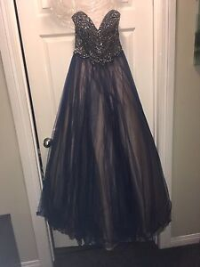 Grad dress worn once, perfect condition.