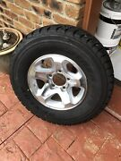 Toyota Landcruiser vdj79  factory alloy rim and Tyre new  Albany Creek Brisbane North East Preview