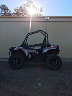Polaris Sportsman Ace Buggy Two Wells Mallala Area Preview