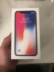 IPHONE X BLACK 64gb