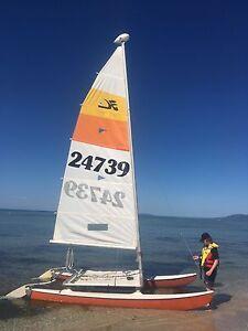 HOBIE 14 ,WRECKING , PART OUT, Catamaran, HOBIECAT McKinnon Glen Eira Area Preview